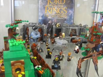 LEGO Lord of the Rings display