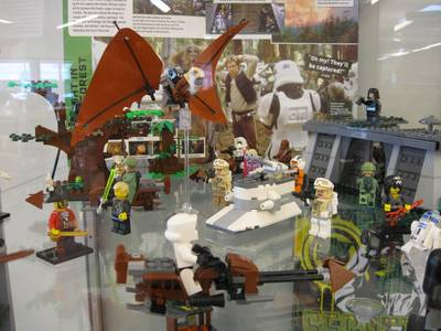 LEGO Star Wars display
