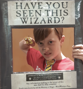 Have you seen this wizard? wanted poster