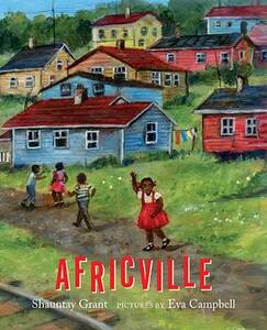 Cover of the book Africville by Shauntay Grant.