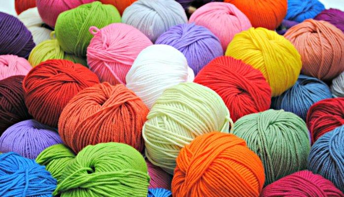 colourful balls of yarn